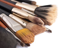 Makeup muśnięcia Fotografia Royalty Free