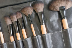 Makeup muśnięcia zdjęcie stock