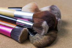 Makeup muśnięcia obraz royalty free
