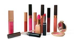 Makeup och skönhetsmedel royaltyfri fotografi