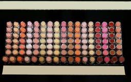 Makeup półka Obrazy Stock