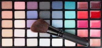 Makeup paleta Fotografia Stock