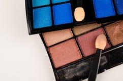 Makeup paleta Obrazy Stock