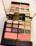 Makeup paleta z makeup Obrazy Stock