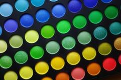 Makeup palette Stock Images