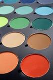 Makeup palette Stock Image