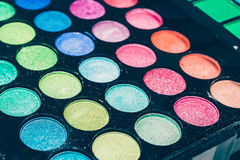 Makeup palette Royalty Free Stock Images