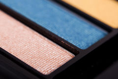 Makeup palette. Close up of make up  palette Stock Photos