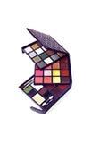 Makeup palette, set Royalty Free Stock Photo