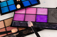 Makeup palette Royalty Free Stock Photo