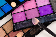 Makeup palette Stock Images
