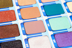 Makeup palette Royalty Free Stock Photos