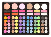 Makeup palettes Stock Images