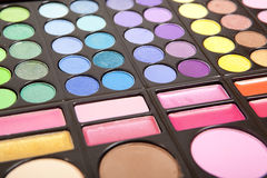 Makeup palettes Royalty Free Stock Images
