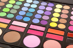 Makeup palettes Stock Photos