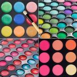Makeup palettes Stock Image