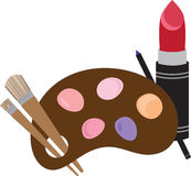 Makeup Pallet Royalty Free Stock Image