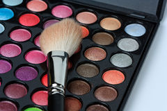 Makeup pallete Stock Photography