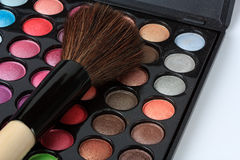 Makeup pallete Stock Images