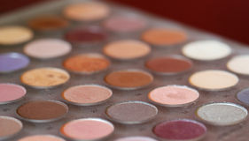 Makeup Pallette Royalty Free Stock Photo