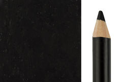 Makeup pencil with sample stroke Royalty Free Stock Photo