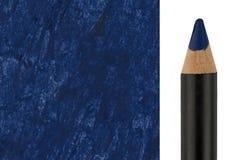 Makeup pencil with sample stroke Royalty Free Stock Photos