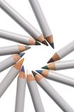 Makeup pencils Royalty Free Stock Photography