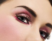 makeup piękna kobieta Fotografia Royalty Free