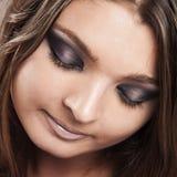 Makeup portrait Stock Image
