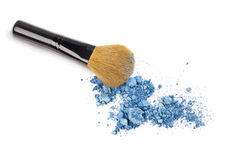 Free Makeup Powder And Brush Stock Photography - 30343692