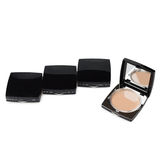 Makeup Powder with mirror Stock Photography