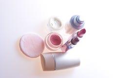 Makeup products Royalty Free Stock Photos