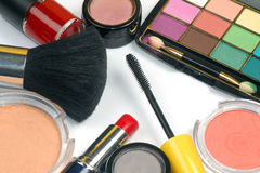 Makeup products Stock Images