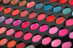 Makeup. Professional multicolor set Stock Photos