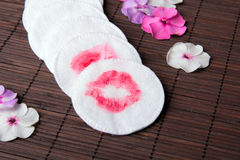 Makeup removal Stock Images