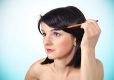 Makeup rzęsy Zdjęcie Royalty Free