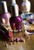 Makeup selection stock image