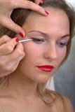 Makeup session Royalty Free Stock Photos