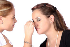 Makeup session Stock Image