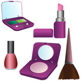 Makeup set Royalty Free Stock Images