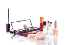 Makeup set stock photos