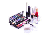 Free Makeup Set Royalty Free Stock Image - 7489816