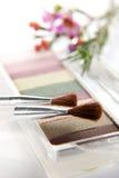 Makeup set closeup Stock Photo