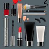 Makeup set collection Royalty Free Stock Image