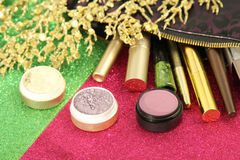 Makeup set Royalty Free Stock Photos