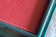 makeup tła koloru prochowi kosmetyki przyglądają się twarzy muśnięcie Zdjęcie Stock