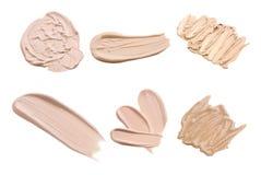 Makeup tonal foundation Stock Photography