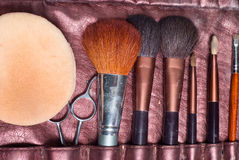 Makeup tools Stock Photography