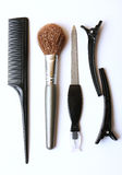 Makeup tools Royalty Free Stock Photo