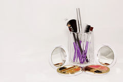 Makeup Tools Royalty Free Stock Photos